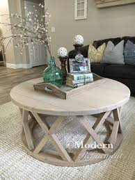 gorgeous rustic round farmhouse coffee table by modernrefinement buy zina solidwood side table