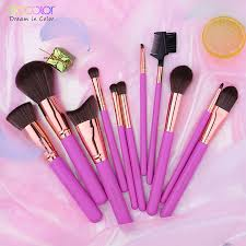 <b>Docolor</b> 11PCS Professional <b>Makeup Brushes</b> Powder Foundation ...