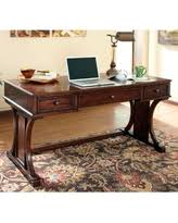 devrik home office desk by ashley brown baybrin rustic brown home office small