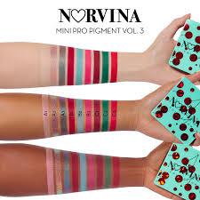 Norvina® <b>Mini</b> Pro Pigment Palette Vol. 3 - <b>Anastasia Beverly Hills</b> ...