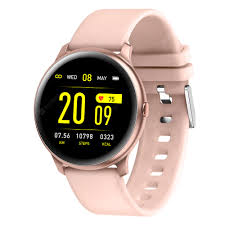 KW019 Smart watch Waterproof Blood oxygen Heart Rate Monitor ...