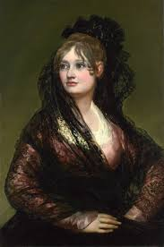 in western fashion in spain some society ladies rebelled against french fashion by dressing as majas like dontildea isabel de porcel 1805