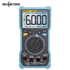 RICHMETERS 405A <b>True RMS</b> 20A Digital <b>Multimeter 6000 Counts</b> ...
