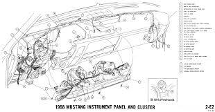 mustang dash wiring diagram 1966 mustang instrument cluster wiring diagram 1966 1968 mustang wiring diagrams and vacuum schematics average joe