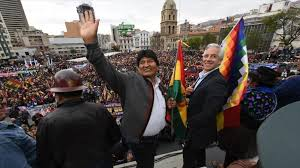 Morales: Unite against those <b>who sell</b> their homeland