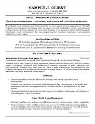 sample retail management resumeretail management resume example preview