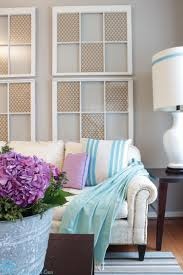 white window pane wall decor  different ways to use old window frames