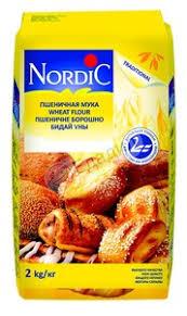 <b>Мука Nordic пшеничная</b>, высший сорт, <b>2</b> кг — Едадил
