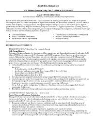 Resume Sample 2 - Call Center Director resume - Career Resumes