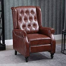 Huisen Furniture Retro Living Room Armchair <b>Recliner Chair</b> ...
