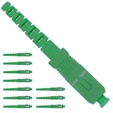 Fiber Optic <b>Connector</b> Kit Single Mode <b>Simplex</b> APC 3.0<b>mm</b> - 10 Pack
