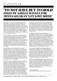 to not have but to hold amelia winata original essay can be found here