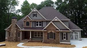 Craftsman French Country Traditional House Plan Craftsman French Country Traditional House Plan Elevation