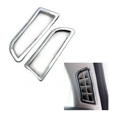 <b>2Pcs</b> Chrome Front Air Vent Cover Trim For For <b>Ford Mondeo</b> ...