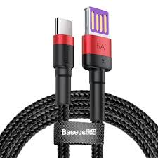Кабель <b>Baseus Cafule HW</b> Quick Charging Data cable USB Double ...
