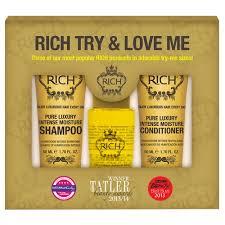 <b>Rich Набор интенсивное увлажнение</b> и питание Try&Love Me ...