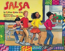 bilingual collection blue del sol books salsa hardcover bilingual book lilian colon vila roberta collier morales