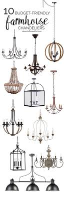 budget friendly farmhouse chandeliers add character and charm to any space amelie distressed chandelier perfect lighting