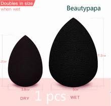 BeautyPaPa черный макияж аппликатор супер мягкий <b>спонж для</b> ...