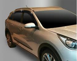 Kia Niro <b>темные дефлекторы</b> на <b>окна</b> из 6 элементов <b>Autoclover</b> ...