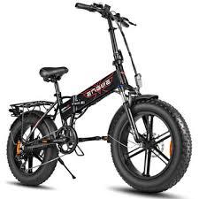 [eu direct] <b>engwe ep</b>-<b>2 pro</b> 12.8ah <b>750w</b> fat tire folding electric bike ...