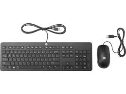 Тонкая USB-<b>клавиатура и мышь HP</b> | HP® Russia