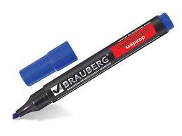 <b>Маркер Brauberg</b> Contract 1-<b>5mm</b> Blue 150470   www.gt-a.ru