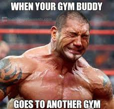 Tag your gym buddy! Show them how much this upsets you :( - http ... via Relatably.com