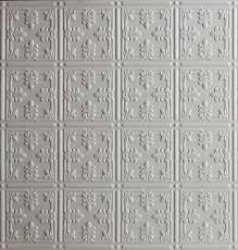 sagging tin ceiling tiles bathroom: new pattern  tin ceiling tile