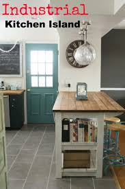 rustic kitchen island: primitive amp proper my industrial look kitchen island and that time i messed up