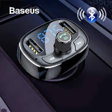 Автомобильное зарядное устройство <b>Baseus fm</b>-передатчик Aux ...