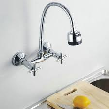 kitchen faucets wall mount: kitchen faucet chromed polished brass basin mixer tap  swivel basin sink faucets wall mounted