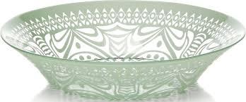 """<b>Тарелка глубокая Pasabahce</b> """"БОХО"""", цвет: зеленый, 22 см ..."""
