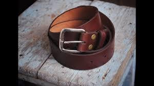 Работа с <b>кожей</b>. <b>Ремень</b> своими руками. Handmade leather <b>belt</b> ...