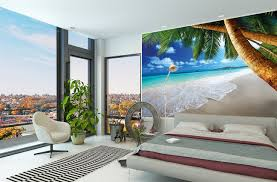 Bedroom  Bedroom Wall Murals Ideas Slate Pillows Lamp Bases The - Bedroom wall murals ideas