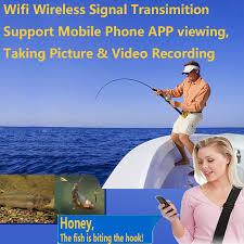 PDDHKK Wifi <b>Wireless</b> Fish <b>Finder</b> Underwater Fishing Camera ...