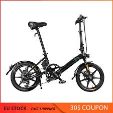 European Stock <b>FIIDO D3S Folding Moped</b> Electric Bike Variable ...