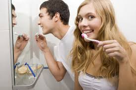 Image result for brushing and morning