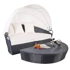 canopy daybed outdoor patio