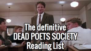a quotdead poets societyquot reading list