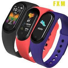 Call clock <b>M5 Sports Smart</b> Watch Smartwatch Blood Pressure Heart ...