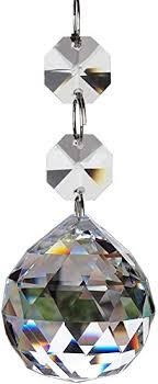 Fushing 20pcs Crystal Glass Ball Chandelier Prisms ... - Amazon.com