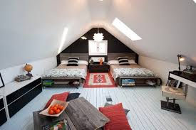 loft bed kids attic idea outfitting your kids room with a stylish attic furniture ideas
