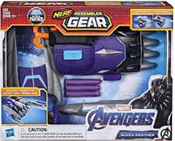Avengers Marvel Endgame: Nerf Black Panther ... - Amazon.com