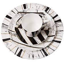 Porcelain Dinnerware Set -Creative Nordic Style ... - Amazon.com