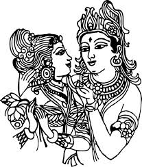 New Radha Krishna wall stickers Wallpapers for free download