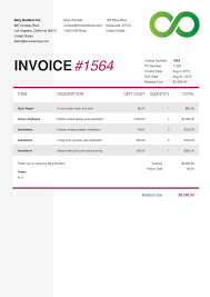 amatospizzaus outstanding carbonless invoice templates half page and ravishing credit card invoice also quickbooks mobile invoicing in addition writing an invoice for lance work from invoiceninjacom photograph
