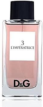 perfume for lady girl n. 3 l'imperatrice <b>dolce</b> e <b>gabbana d&g pour</b> ...