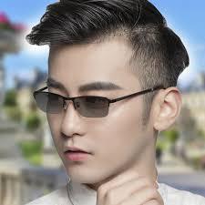 Vazrobe Half Frame <b>TR90</b> Photochromic <b>Men Sunglasses</b> Polarized ...