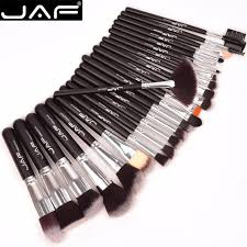 jaf 24pcs professional makeup brushes soft synthetic hair full set of make up brush artists competent tool j2420y p